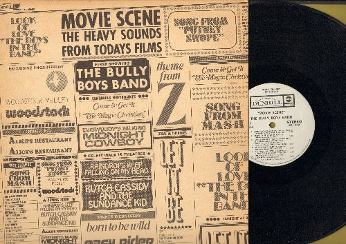 Bully Boys Band - Movie Scene: Song From M*A*S*H, Born To Be Wild, Alice's Restaurant, Everybody's Talkin', Let It Be (vinyl STEREO LP record, DJ advance pressing) - NM9/EX8 - LP Records