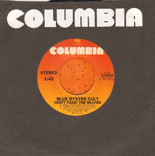 Blue Oyster Cult - (Don't Fear) The Reaper/Tattoo Vampire (with Columbia company sleeve) - EX8/ - 45 rpm Records