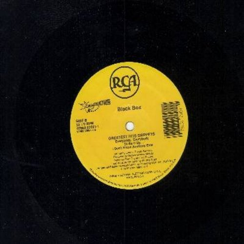 Black Box - Fantasy/Greatest Hits Snippets: Everybody Everybody, Strike It Up, I Don't Know Anybody Else (12 inch 33rpm vinyl Maxi Single) - NM9/ - LP Records
