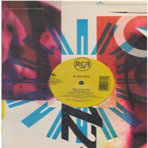 Black Box - Open Your Eyes: Mirko's Mix (5:18 minutes)/Mirko's Instrumental (4:41)/Valerio's Mix (5:36 minutes)/Daniele's Mix (5:58) (12 inch 33 rpm Maxi Single) - NM9/ - LP Records