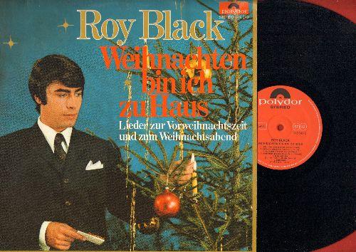 Black, Roy - Weihnachten bin ich zu Hause: Jingle Bells, White Christmas, Leise rieselt der Schnee, Alle Jahre wieder, Stille Nacht, O du froehliche (vinyl STEREO LP record, German Pressing) - M10/EX8 - LP Records