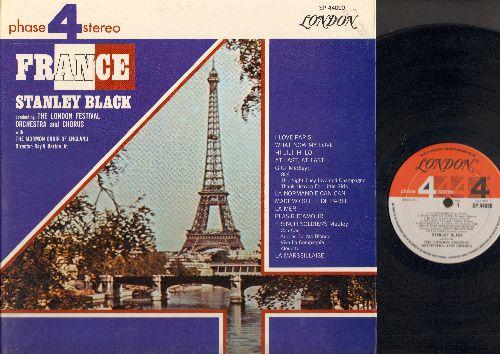Black, Stanley, London Festival Orchestra & Chorus - France: I Love Paris, Hi Lili Hi Lo, La Mer, La Marseillaise (vinyl STEREO LP record, gate-fold cover) - NM9/NM9 - LP Records