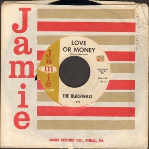 Blackwells - Love Or Money/Big Daddy And The Cat - NM9/ - 45 rpm Records