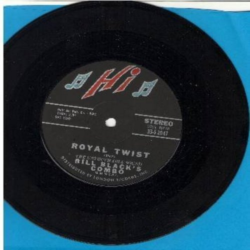 Black, Bill Combo - Royal Twist/Johnny B. Goode (RARE 7 inch 33rpm record with small spindle hole) - NM9/ - 45 rpm Records