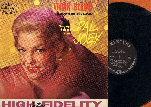 Blaine, Vivian - Selections from Pal Joey and Annie Get Your Gun: Bewitched, Doin' What Comes Naturally, Anything You Can Do, There's No Business Like Show Business (vinyl MONO LP record) - NM9/NM9 - LP Records