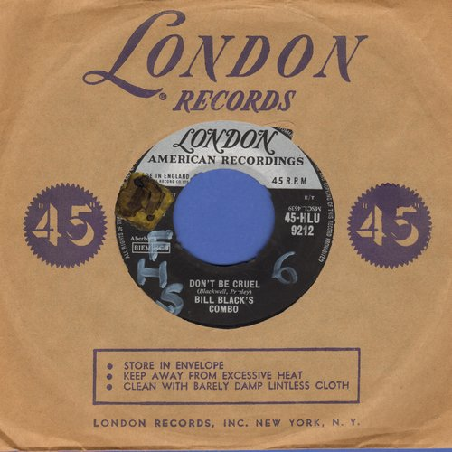 Black, Bill Combo - Don't Be Cruel/Rollin' (British Pressing with London company sleeve, wol) - EX8/ - 45 rpm Records