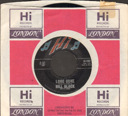 Black, Bill Combo - Monkey Shine/Long Gone (with vintage Hi company sleeve) - NM9/ - 45 rpm Records