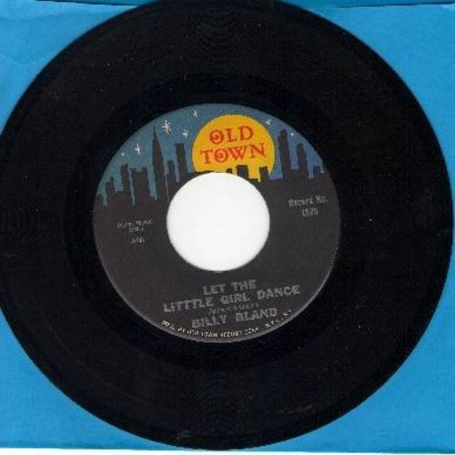 Bland, Billy - Let The Little Girl Dance/Sweet Thing (town/moon/stars label pressing) - EX8/ - 45 rpm Records