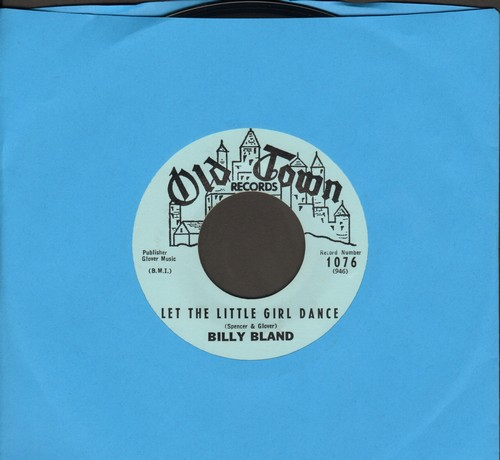 Bland, Billy - Let The Little Girl Dance/Sweet Thing (MINT condition) - M10/ - 45 rpm Records