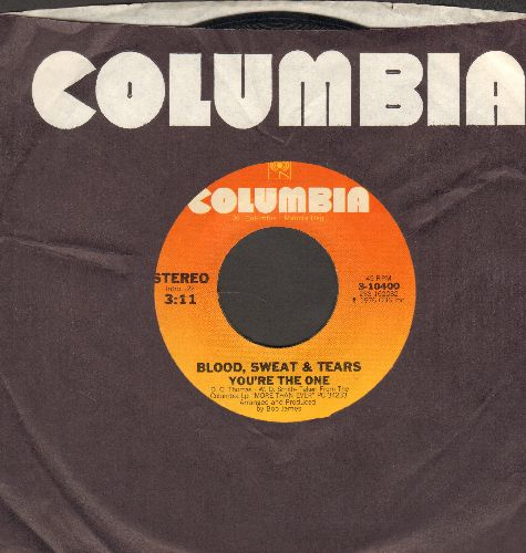 Blood, Sweat & Tears - You're The One/Heavy Blue (with Columbia company sleeve) - EX8/ - 45 rpm Records