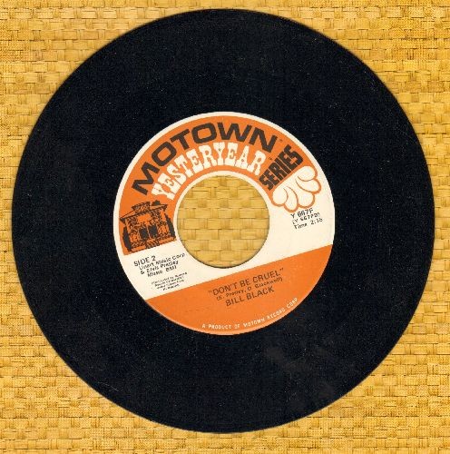 Black, Bill Combo - Don't Be Cruel/White Silver Sands (double-hit re-issue) - EX8/ - 45 rpm Records