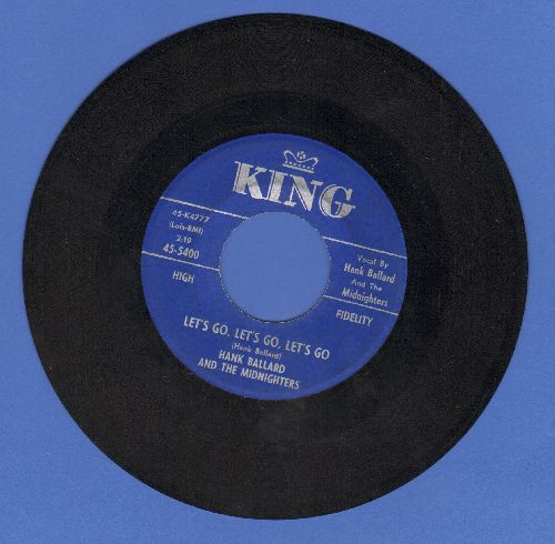 Ballard, Hank & The Midnighters - Let's Go, Let's Go, Let's Go/If You'd Forgive Me - NM9/ - 45 rpm Records