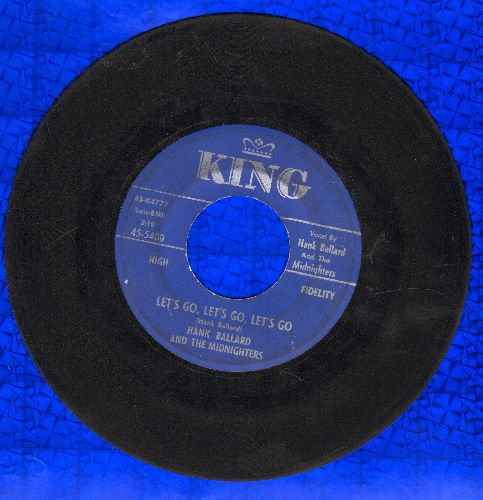 Ballard, Hank & The Midnighters - Let's Go, Let's Go, Let's Go/If You'd Forgive Me - VG7/ - 45 rpm Records