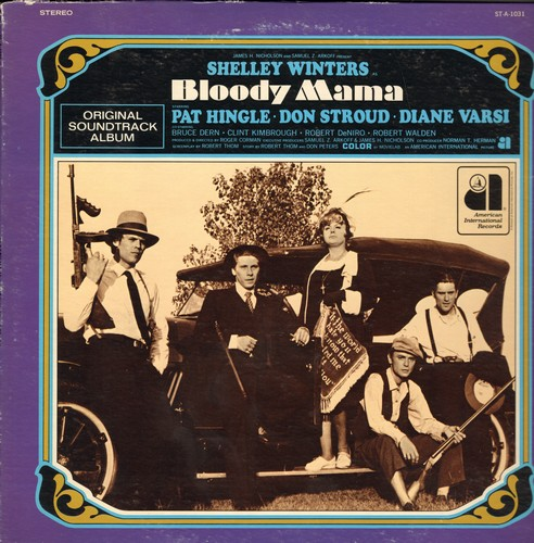 Bloody Mama - Bloody Mama - Original Soundtrack Album (vinyl STEREO LP record) - M10/EX8 - LP Records