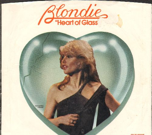 Blondie - Heart Of Glass/11:59 (with picture sleeve) - NM9/VG7 - 45 rpm Records