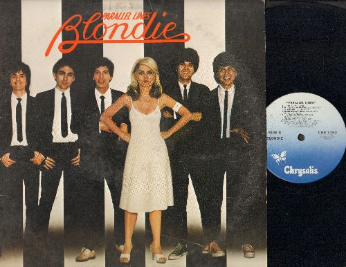 Blondie - Parallel Lines: Sunday Girl, One Way Or Another, Heart Of Glass, 11:59 (vinyl LP record) - NM9/EX8 - LP Records