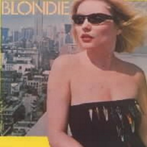 Blondie - Rapture (first major hit by a white artist to embrace Rap Music)/Walk Like Me (with picture sleeve) - NM9/EX8 - 45 rpm Records