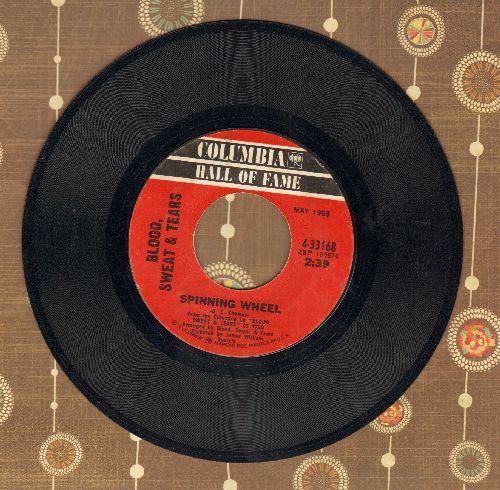 Blood, Sweat & Tears - You've Made Me So Very Happy/Spinning Wheel (re-issue) - EX8/ - 45 rpm Records