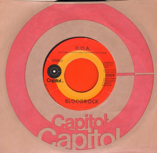 Bloodrock - D.O.A./Castle Of Thoughts (Scranton pressing) - NM9/ - 45 rpm Records