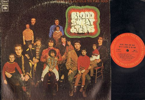 Blood, Sweat & Tears - Child Is Father To The Man: Morning Glory, Just One Smile, Somethin' Goin' On, I Can't Quit Her, Without Her (vinyl STEREO LP record) - VG7/VG7 - LP Records