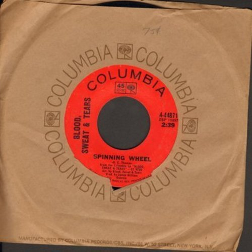 Blood, Sweat & Tears - Spinning Wheel/More And More - EX8/ - 45 rpm Records