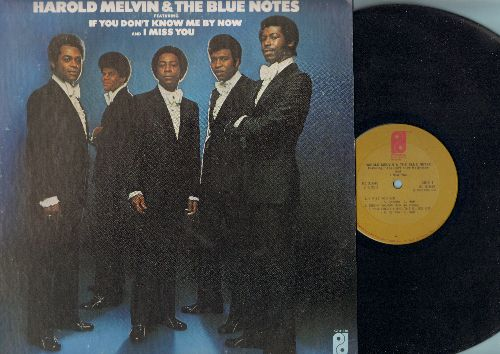 Melvin, Harold & The Bluenotes - If You Don't Know Me By Now: I Miss You, Let It Be You (vinyl STEREO LP record) - NM9/EX8 - LP Records