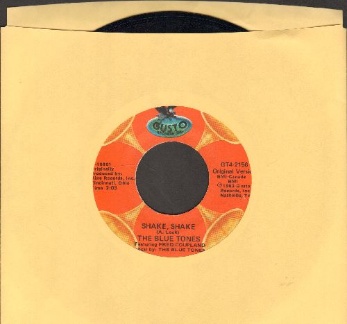 Blue Tones - Shake, Shake/I'm Tore Up (by Billy Gayles on flip-side) (re-issue) - NM9/ - 45 rpm Records