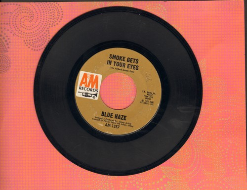 Blue Haze - Smoke Gets In Your Eyes/Anna Rosanna  - EX8/ - 45 rpm Records