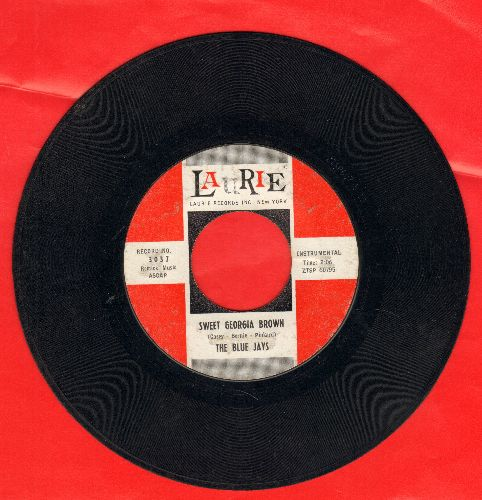 Blue Jays - Sweet Georgia Brown/J. T.'s Blues - VG7/ - 45 rpm Records