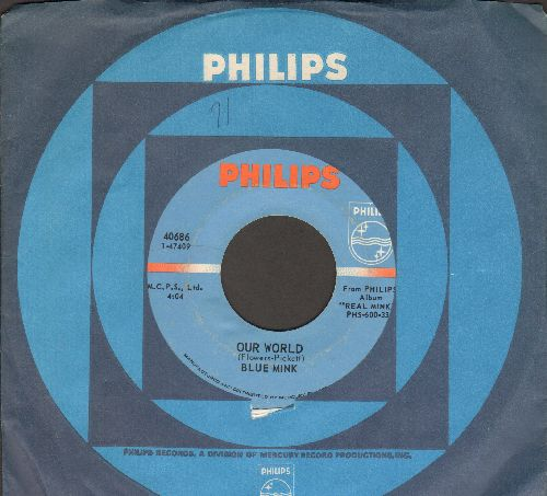 Blue Mink - Our World/Respects To Mr. Jones - NM9/ - 45 rpm Records