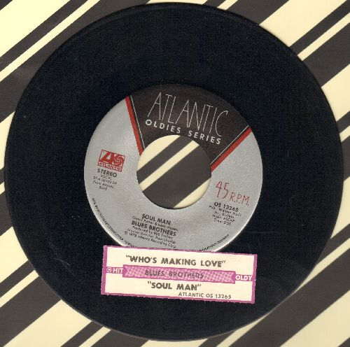 Blues Brothers - Soul Man/Who's Making Love (double-hit re-issue) - EX8/ - 45 rpm Records
