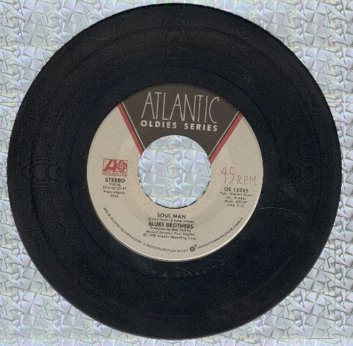 Blues Brothers - Soul Man/Who's Making Love (double-hit re-issue) - VG7/ - 45 rpm Records