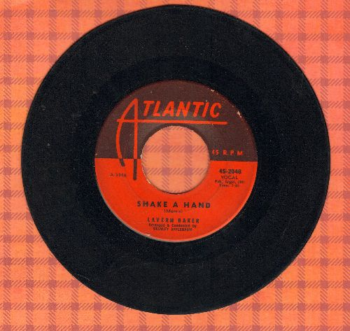 Baker, LaVern - Shake A Hand/Manana  - VG7/ - 45 rpm Records