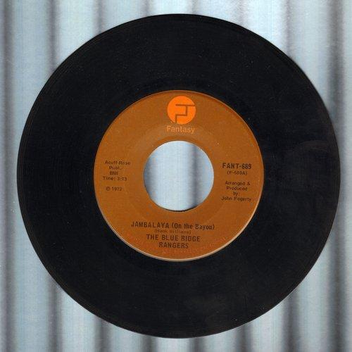 Blue Ridge Rangers - Jambalaya (On The Bayou)/Workin' On A Building - VG7/ - 45 rpm Records
