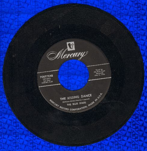 Blue Stars - Broadway At Basin Street/The Kissing Dance - EX8/ - 45 rpm Records