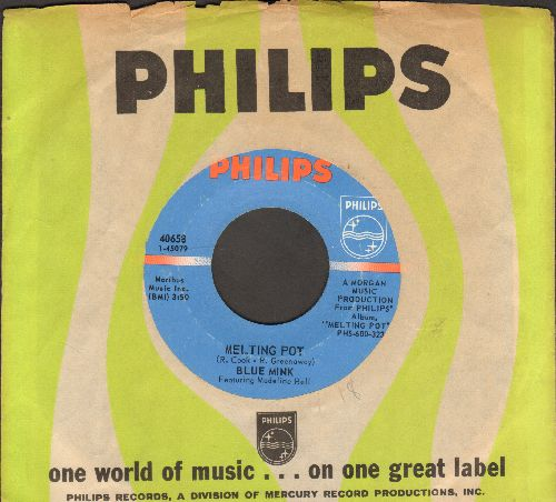 Blue Mink - Melting Pot/But Not Forever (with Philips company sleeve) - NM9/ - 45 rpm Records
