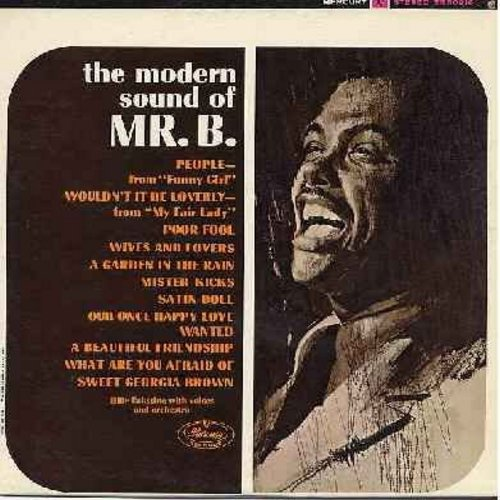 Eckstine, Billy - The Modern Sound Of Mr. B.: People, Wouldn't It Be Loverly, Satin Doll, Wanted, Sweet Georgia Brown (vinyl STEREO LP record) - EX8/NM9 - LP Records