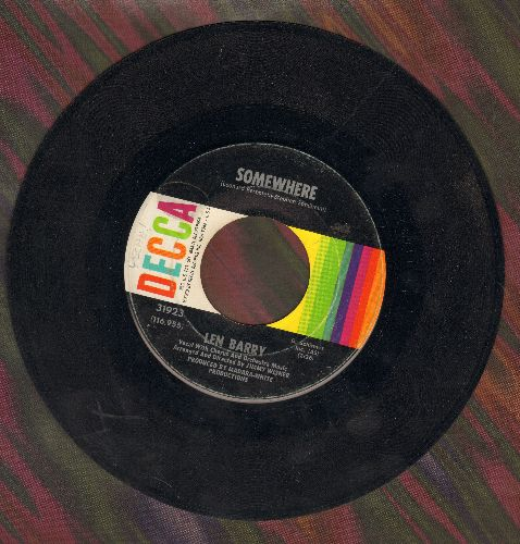 Barry, Len - Somewhere (from -West Side Story-)/It's A Cryin' Shame  - VG7/ - 45 rpm Records