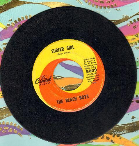 Beach Boys - Surfer Girl/Little Deuce Coupe  - VG7/ - 45 rpm Records