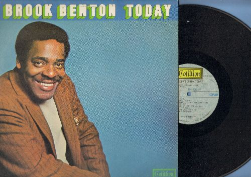Benton, Brook - Brook Benton Today: My Way, Can't Take My Eyes Off You, A Little Bit Of Soap, I've Gotta Be Me (vinyl STEREO LP record) - NM9/EX8 - LP Records