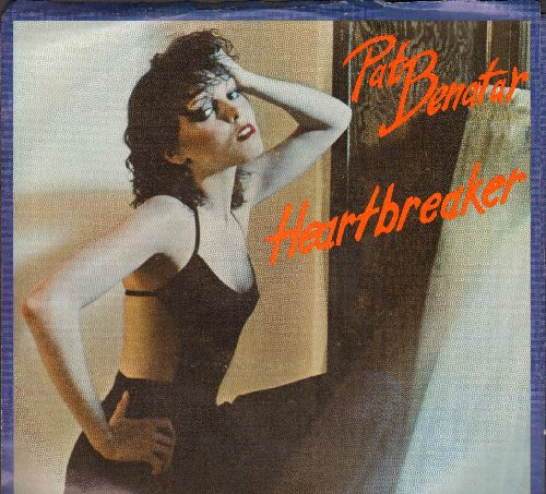 Benatar, Pat - Heartbreaker/My Clone Sleeps Alone (with picture sleeve) - NM9/EX8 - 45 rpm Records