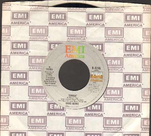 Bowie, David - Tonight/Tumble And Twirl (with EMI company sleeve) - EX8/ - 45 rpm Records