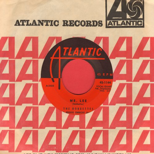 Bobbettes - Mr. Lee/Look At The Stars  - EX8/ - 45 rpm Records