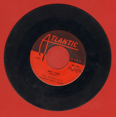 Bobbettes - Mr. Lee/Look At The Stars  - VG6/ - 45 rpm Records