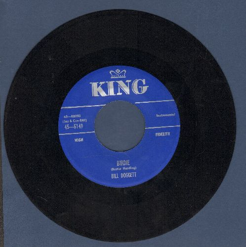 Doggett, Bill - Birdie/Hold It - EX8/ - 45 rpm Records