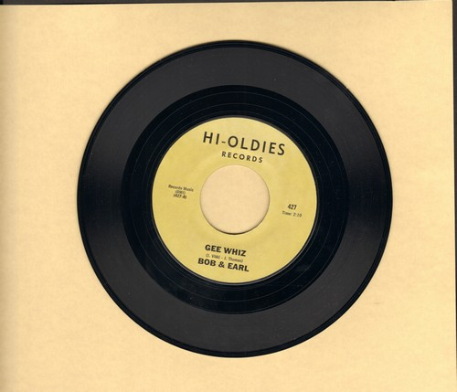 Bob & Earl - Gee Wiz/Sweet Pea (double-hit re-issue) - M10/ - 45 rpm Records