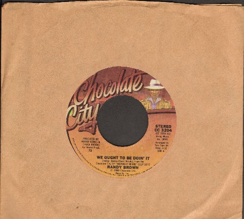 Brown, Randy - We Ought To Be Doin' It/Things That I Could Do To You - NM9/ - 45 rpm Records