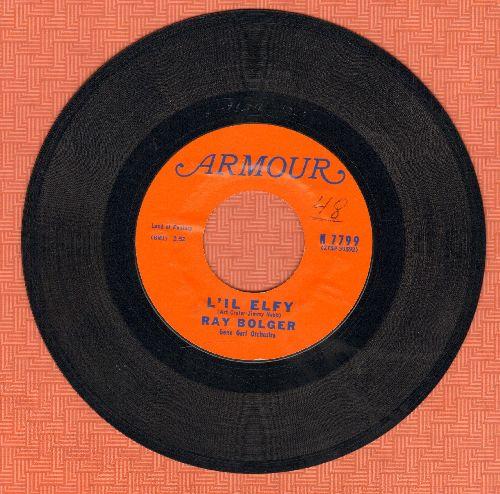 Bolger, Ray - Li'l Elfy/Frosty The Snowman - NM9/ - 45 rpm Records