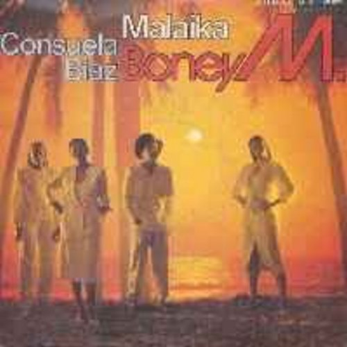 Boney M - Malaika/Consuela Biaz (with picture sleeve) (French Pressing, sung in English) - NM9/EX8 - 45 rpm Records