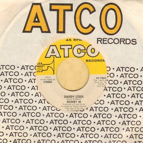 Boney M - Daddy Cool/Lovin' Or Leavin' (Original 1976 Euro-Dance Sensation!)(with Atco company sleeve) - EX8/ - 45 rpm Records